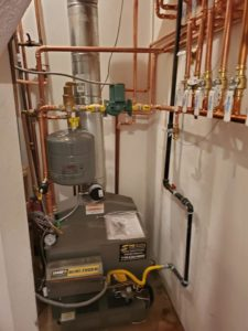 finished heating repair job in Colorado Springs