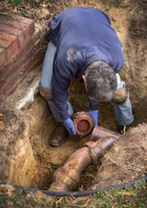 sewer line services palmer lake