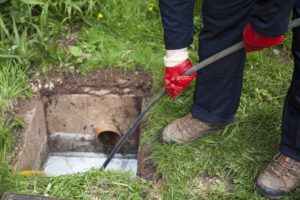 sewer line repair woodland park