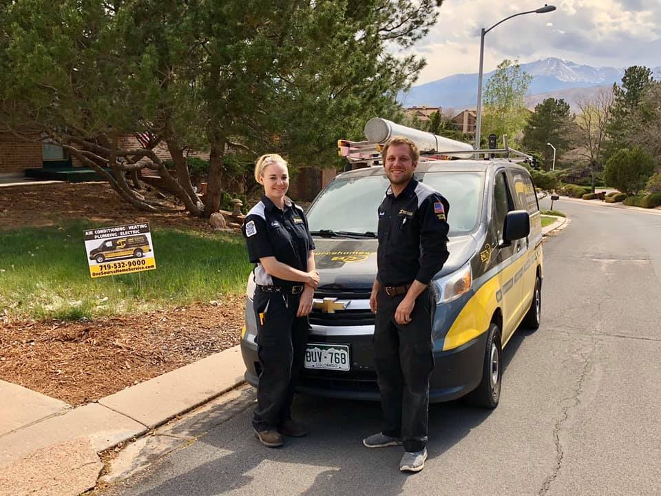 One Source team ready to help with plumbing problems in Pueblo CO